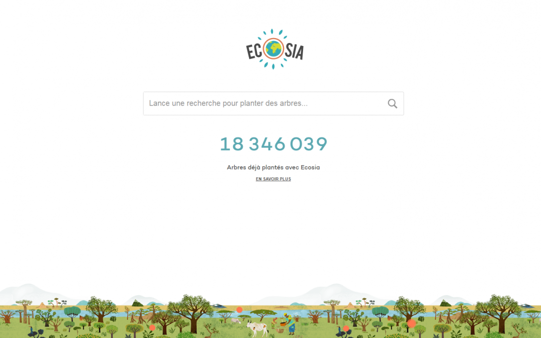 On a testé Ecosia, le moteur de recherche qui plante des arbres !